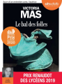 Couverture Le bal des folles Editions Audiolib 2020