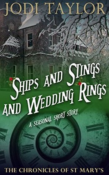Couverture The chronicles of St Mary's, book 06.5: Ships and Stings and Wedding Rings (2015)