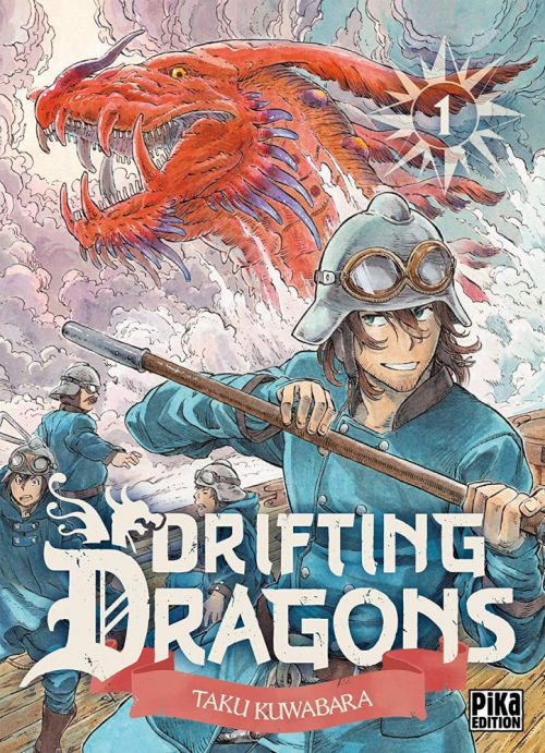 Couverture Drifting Dragons, tome 01