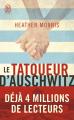 Couverture Le tatoueur d'Auschwitz Editions J'ai Lu 2020