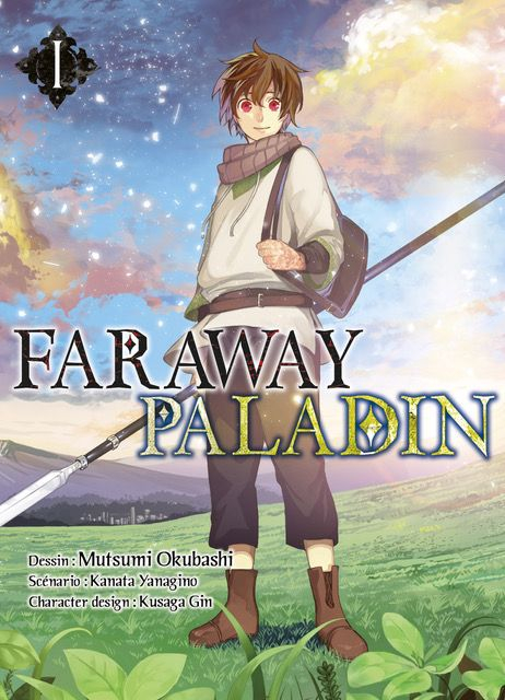 Couverture Faraway Paladin, tome 1