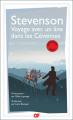 Couverture Voyage avec un âne dans les Cévennes Editions Garnier Flammarion 2017