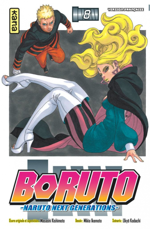 Couverture Boruto : Naruto next generations, tome 8