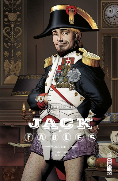 Couverture Jack of Fables, intégrale, tome 2