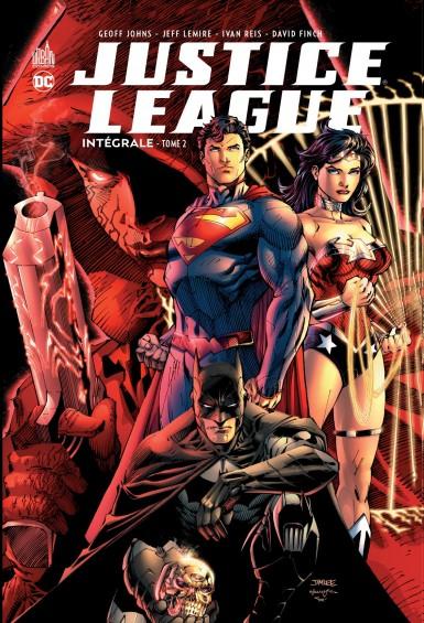 Couverture Justice League (Renaissance), intégrale, tome 2