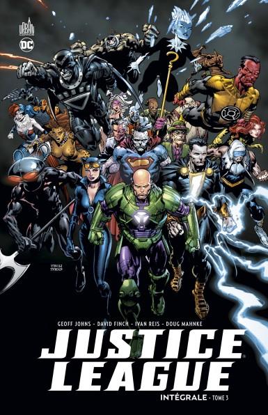 Couverture Justice League (Renaissance), intégrale, tome 3