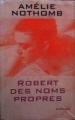 Couverture Robert des noms propres Editions France Loisirs 2003