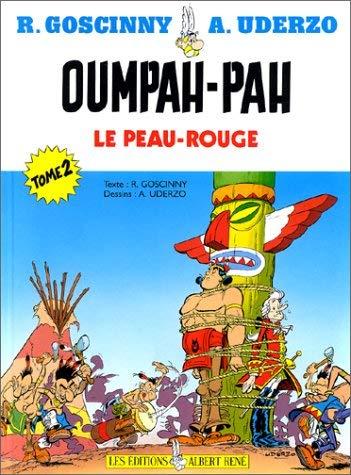 Couverture Oumpah-pah le peau-rouge, tome 2