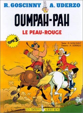 Couverture Oumpah-pah le peau-rouge, tome 3