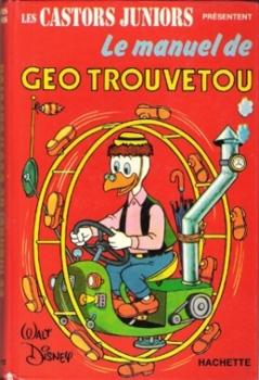 Couverture Le Manuel de Géo Trouvetou