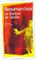 Couverture Le Barbier de Séville Editions Flammarion (GF) 2001