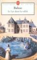 Couverture Le lys dans la vallée Editions Le livre de poche (Classiques de poche) 2006