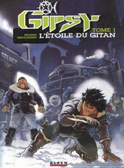 Couverture Gipsy, tome 1 : L'étoile du gitan