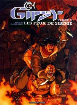 Couverture Gipsy, tome 2 : Les feux de Sibérie