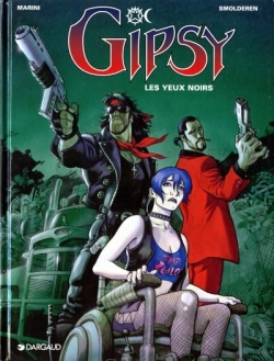 Couverture Gipsy, tome 4 : Les yeux noirs