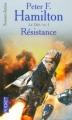 Couverture L'Aube de la Nuit, tome 3 : Le Dieu nu, partie 1 : Résistance Editions Pocket (Science-fiction) 2006
