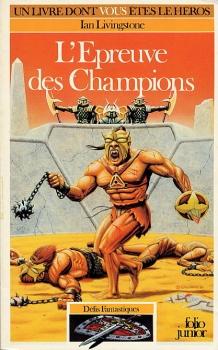 Couverture L'Epreuve des Champions