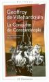Couverture La Conquête de Constantinople Editions Flammarion (GF - Bilingue) 2004