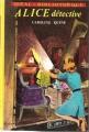 Couverture Alice détective Editions Hachette (Idéal bibliothèque) 1975