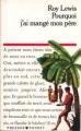 Couverture Pourquoi j'ai mangé mon père Editions Presses pocket 1990