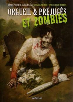 Couverture Orgueil & préjugés et zombies (BD)