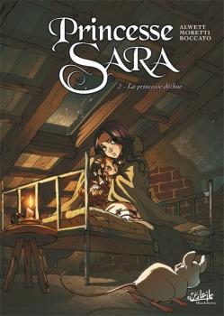 Couverture Princesse Sara, tome 2 : La Princesse déchue