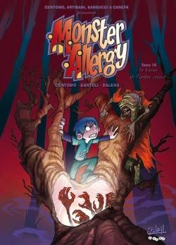 Couverture Monster Allergy, tome 10 : Au coeur de l'arbre creux