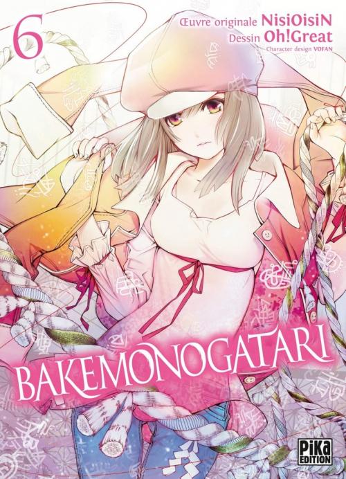 Couverture Bakemonogatari, tome 6