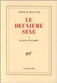 Couverture Le deuxième sexe, tome 1 : Les faits et les mythes Editions France Loisirs 1990