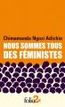 Couverture Nous sommes tous des féministes Editions Gallimard  2020