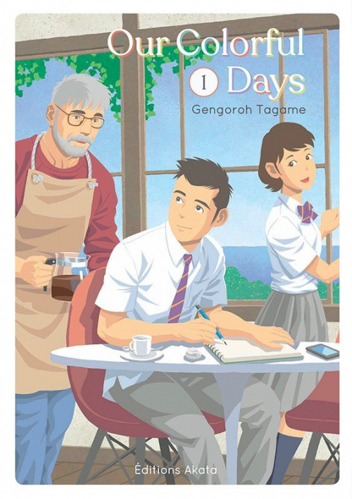 Couverture Our Colorful Days, tome 1