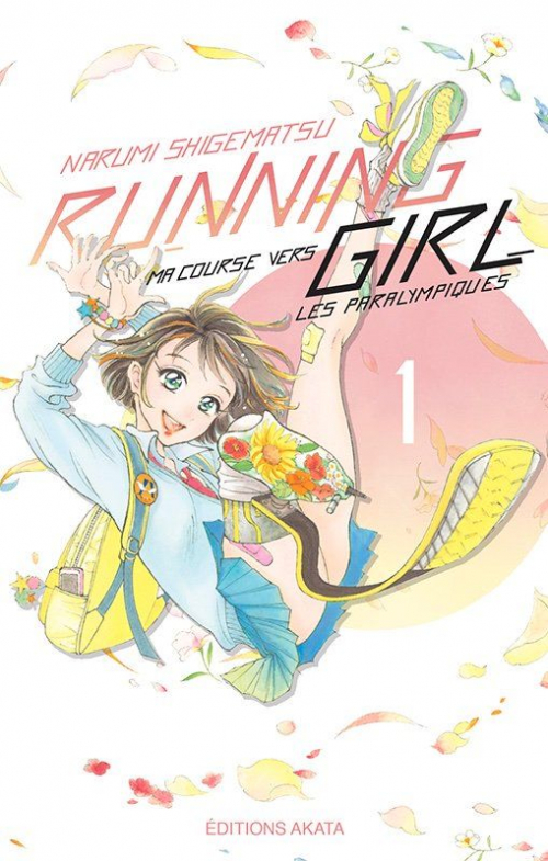 Couverture Running Girl, ma course vers les Paralympiques, tome 1