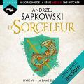 Couverture Sorceleur, tome 7 : La dame du lac Editions Hardigan 2020
