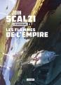 Couverture L'Interdépendance, tome 2 : Les flammes de l'Empire Editions L'Atalante (La Dentelle du cygne) 2020