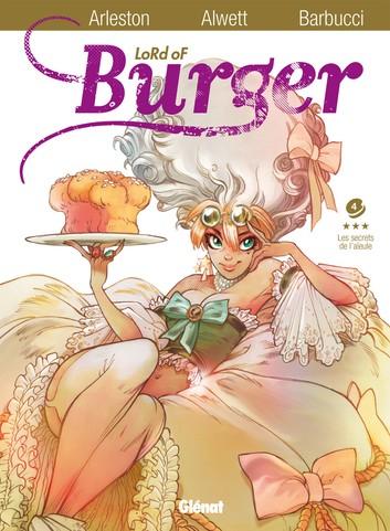 Couverture Lord of Burger, tome 4 : Les secrets de l'aïeule