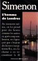 Couverture L'homme de Londres Editions Presses pocket 1989