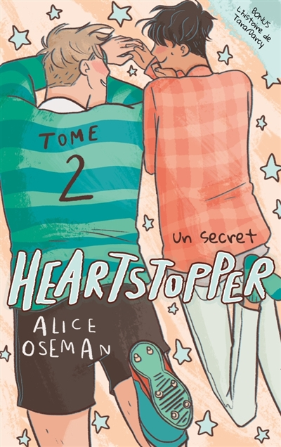 Couverture Heartstopper, tome 2 : Un secret