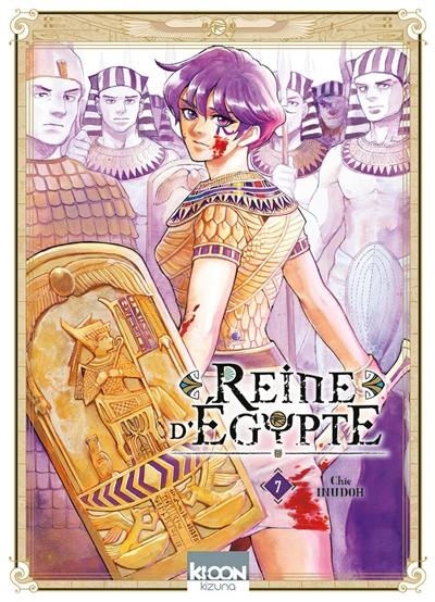 Couverture Reine d'Égypte (manga), tome 7