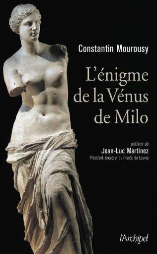 Couverture L'énigme de la Vénus de Milo