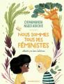 Couverture Nous sommes tous des féministes Editions Gallimard  (Jeunesse) 2020