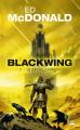 Couverture Blackwing, tome 2 : Le Cri du corbeau Editions Bragelonne 2020