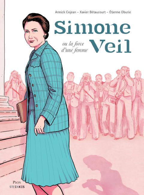 Couverture Simone Veil, la force d'une femme