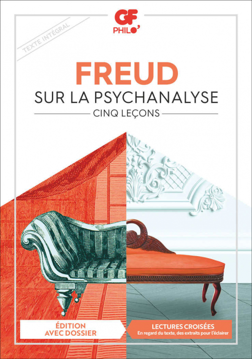 Couverture Cinq leçons sur la psychanalyse