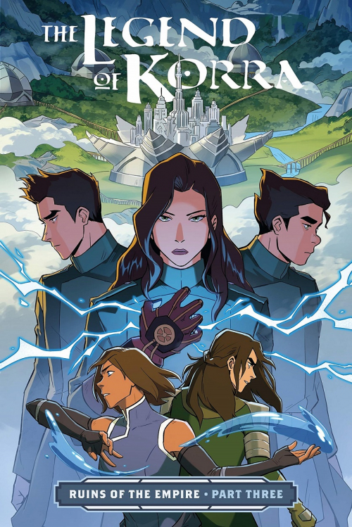 Couverture The Legend of Korra: Ruins of the Empire, book 3