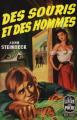 Couverture Des souris et des hommes Editions Le Livre de Poche 1960