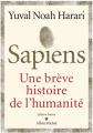 Couverture Sapiens : Une brève histoire de l'humanité Editions Albin Michel 2019