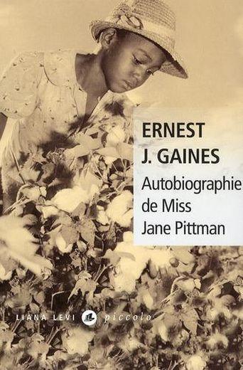 Couverture Autobiographie de miss Jane Pittman