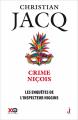Couverture Les enquêtes de l'inspecteur Higgins, tome 35 : Crime Niçois Editions XO 2020