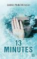 Couverture 13 minutes Editions Castelmore 2020