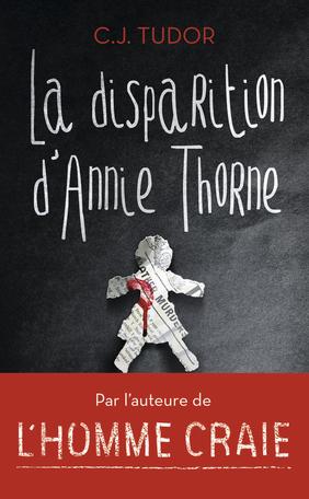 Couverture La disparition d'Annie Thorne